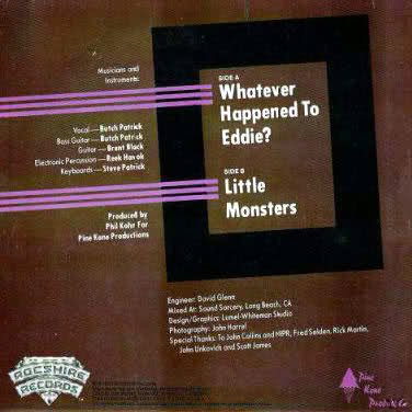 Eddie and the Monsters B