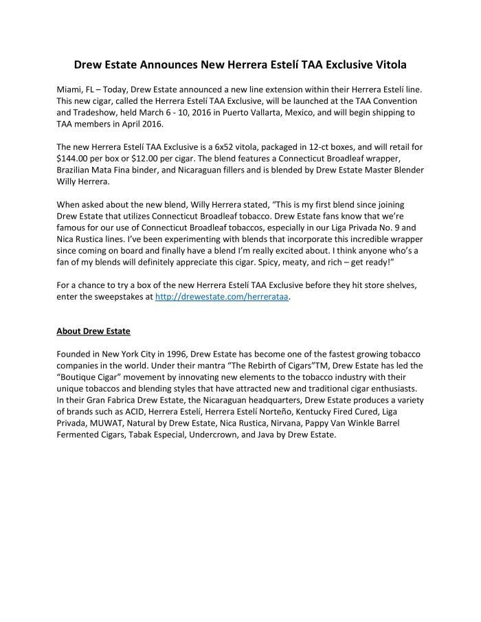 PR---Drew-Estate-Announces-New-Herrera-Estel_-TAA-Exclusive-Vitola-FINAL-page-001